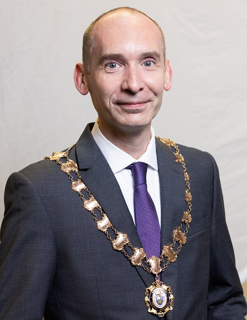 Cllr Andrew Malloy - Town Mayor