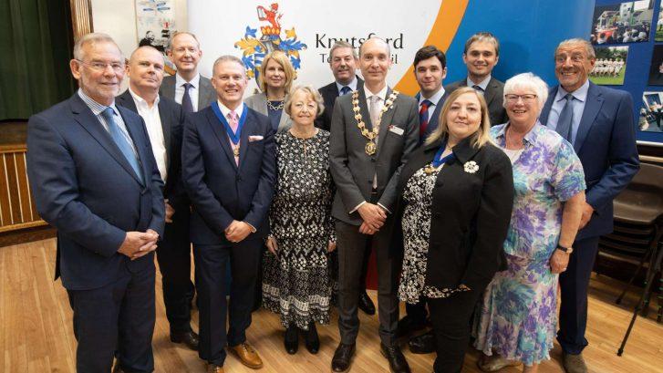 Town Councillors at Mayor Making 2019