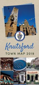 The cover of the 2019 Town Map