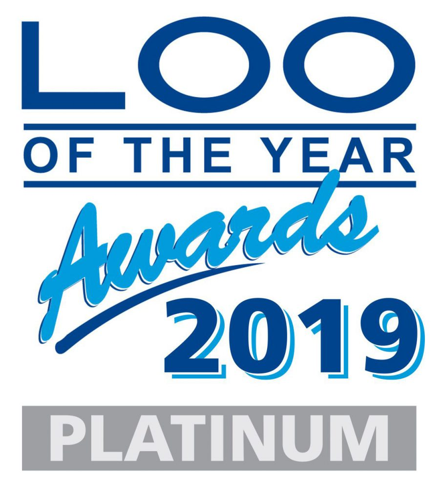 Loo of the Year 2019 Platinum Award Logo