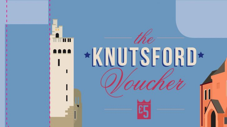 A £5 Knutsford Voucher