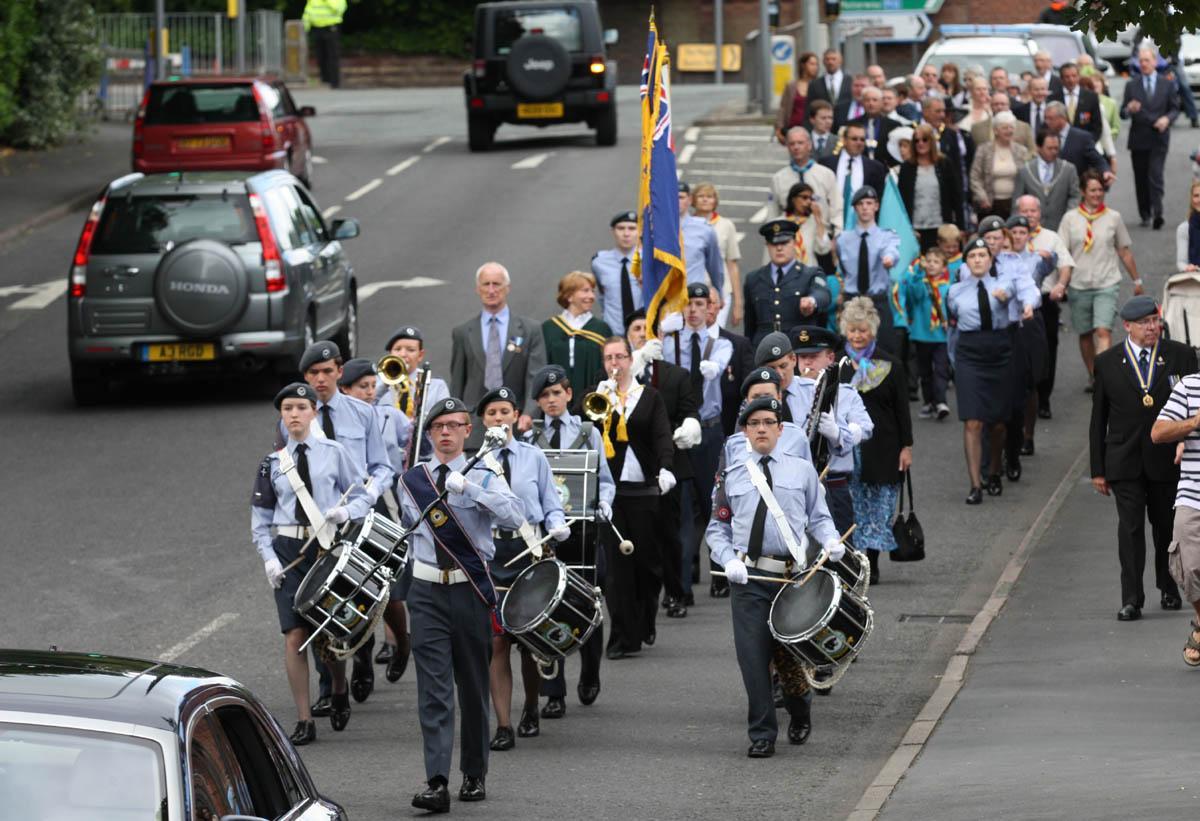 civic parade through the Town