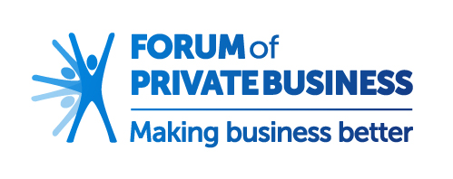 The logo of the Forum of Private Business