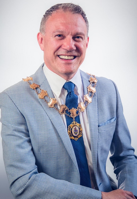 Cllr Stewart Gardiner, Mayor of Knutsford