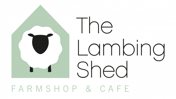 Logo for The Lambing shed farm shop and cafe