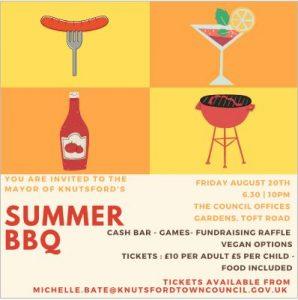 Invitation for Mayors BBQ