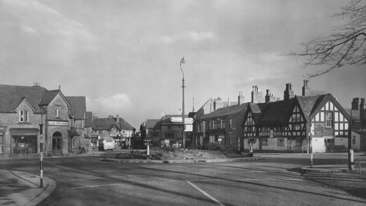Canute Place in 1946